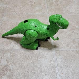 5/$10 Rex Toy Story Dinosaur Toy Disney *Flaws*